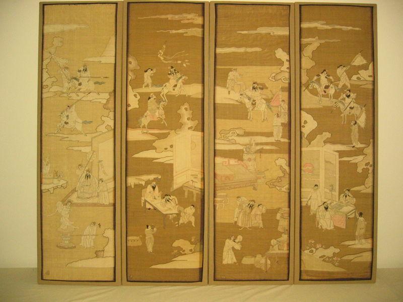 Four Kossu Panels - Complete
