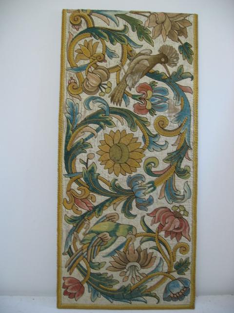 Kathleen Taylor - Italian Silk Floss Panel 1