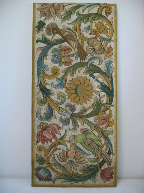 Kathleen Taylor - Italian Silk Floss Panel 2