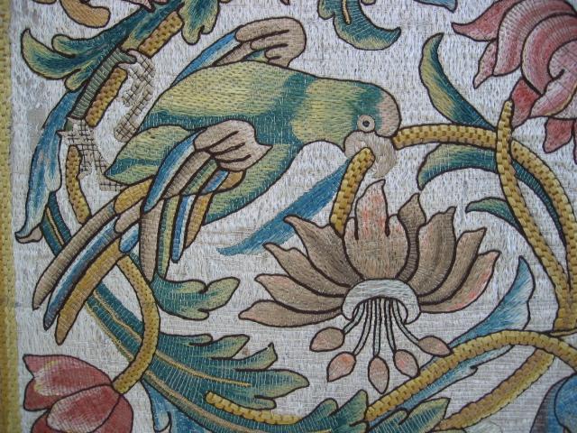 Kathleen Taylor - Italian Silk Floss Panel Detail 1