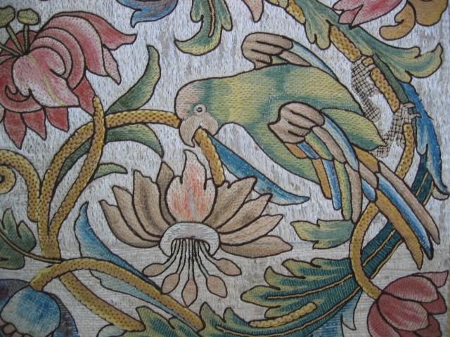 Kathleen Taylor - Italian Silk Floss Panel Detail 2