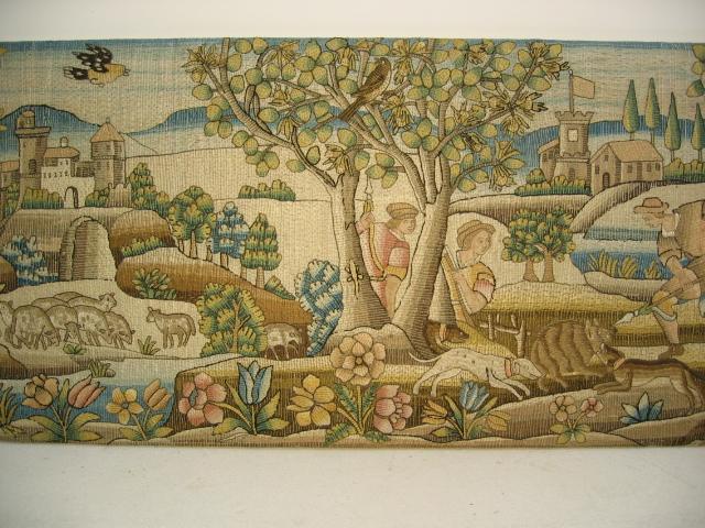 Kathleen Taylor - Long Italian Silk Floss Embroidered Panel Detail 2